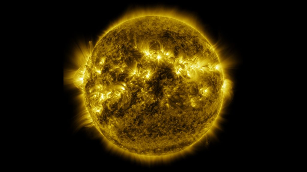 Photo by NASA's Solar Dynamics Observatory
